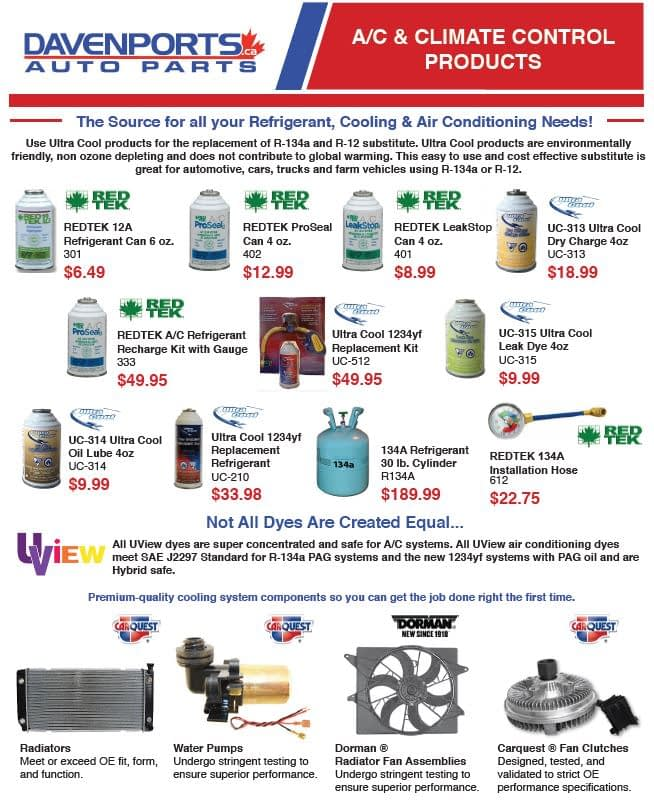 A/C & Climate Control Products